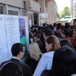 """Doar 34 de brașoveni și-au găsit job la """"bursa AJOFM"""", deși oferta a fost bogată: peste 2.100 de locuri de muncă"""