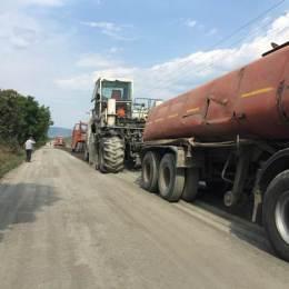 """Costul """"reciclării"""" drumului spre satul turistic Șirnea va fi de peste 790.000 de lei"""