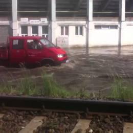"""Încep lucrările """"anti-inundație"""" din zona Stadionului Tineretului"""