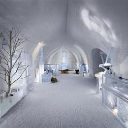 Hotelul de gheață de la Bâlea Lac, rezervat în proporție de 60%