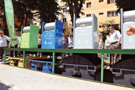 Noua firmă care ar urma să se ocupe de salubrizarea Brașovului, obligată prin contract să amenajeze pubele îngropate