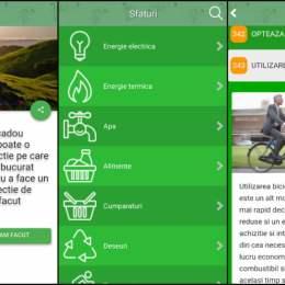 GreenTips, aplicația pentru un stil de viață eco