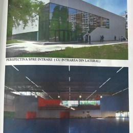"""FOTO Cum ar urma să arate noua sală dedicată gimnasticii brașovene, care va lua locul actualului """"muzeu"""" unde sunt nevoiți să se antreneze micuții sportivi"""