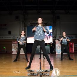 Etapa Județeană a Cupei Școlilor la Street Dance va avea loc pe 8 aprilie la Reduta