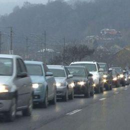 Au început blocajele de weekend pe DN 1. De la București până la Brașov se fac și 5 ore