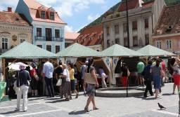 Cartea și muzica ajung în Piața Sfatului, în perioada 12 – 15 iulie