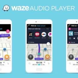 Ajutorul virtual al șoferilor, Waze, creează o nouă funcție în aplicație: casetofonul virtual