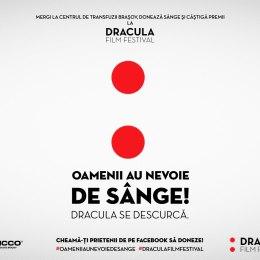 """""""Oamenii au nevoie de sânge! Dracula se descurcă"""". Donează și vei fi premiat"""