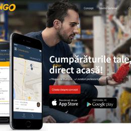 Aplicația Bringo, prin intermediul căreia îți poți face cumpărăturile de pe telefon și îți sunt livrate imediat, este disponibilă de astăzi și pentru brașoveni