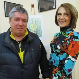 Lucrările regretatei soții a antrenorului Corneliu Țălnar, expuse la Centrul de Agrement și Divertisment din Poiana Brașov