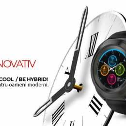 Brașovenii de la Allview produc un nou tip de smartwatch, care îmbină acele clasice ale ceasului analog cu noile tehnologii