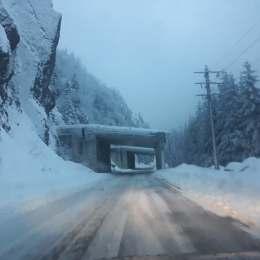 VIDEO Peisaj feeric pe Transfăgărășan. Drumul este deschis până la Bâlea Cascadă