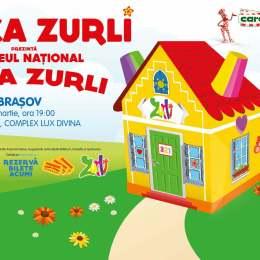 Gașca Zurli aduce Casa Zurli la Lux Divina pe 26 martie
