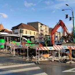 Traficul auto va fi restricționat pe strada Castanilor timp de două zile. Lucrările de modernizare a rețelei de apă vor fi finalizate mai repede