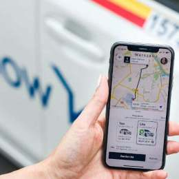 Free Now, cea mai descărcată aplicație de ridesharing din România. A fost instalată de peste 100.000 de utilizatori