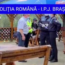 Poliția confirmă informațiile BizBrașov: O femeie a tușit către polițiștii locali și i-a anunțat că e infectată cu SARS-CoV-2