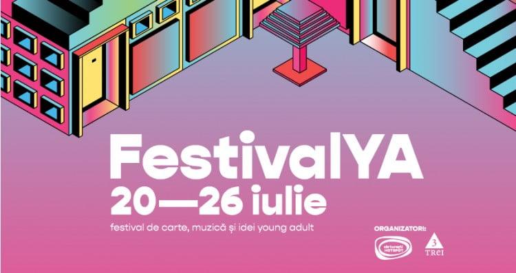 Primul festival de carte și idei Young Adult din România va avea loc în perioada 20-26 iulie. Reducere de 25% pentru cititori