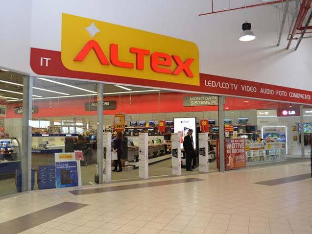 Altex a investit peste un milion de euro în magazinul pe care îl deschide azi în cadrul AFI Brașov