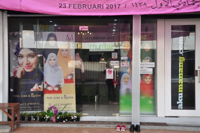 Mumtaz Collections Boutique which opened in 2012 at Batu Satu