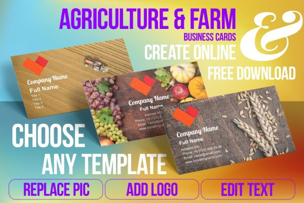 farm business cards