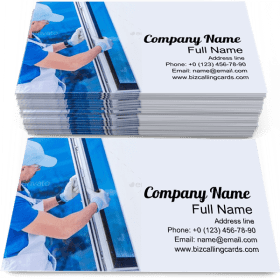 Window Replacement Business Card Template