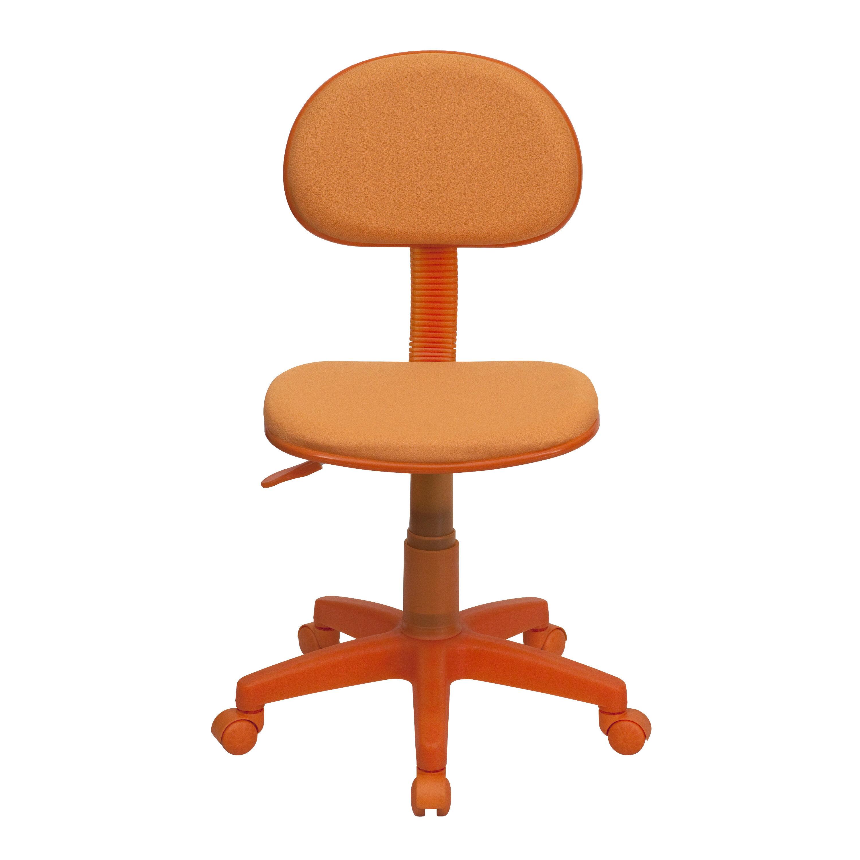 jcpenney desk chair ikea covers jennylund orange low back task bt 698 gg bizchair