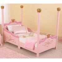 Princess Low Height Toddler Bed 76121 | Bizchair.com