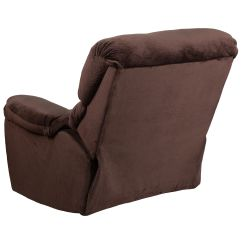 Push Button Recliner Chairs Fabric Lawn Chocolate Mic Power Am P9998 5980 Gg Bizchair