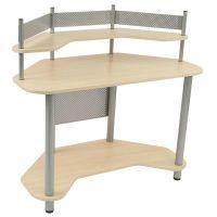 Studio Designs Compact Corner Computer Study Desk - Silver ...