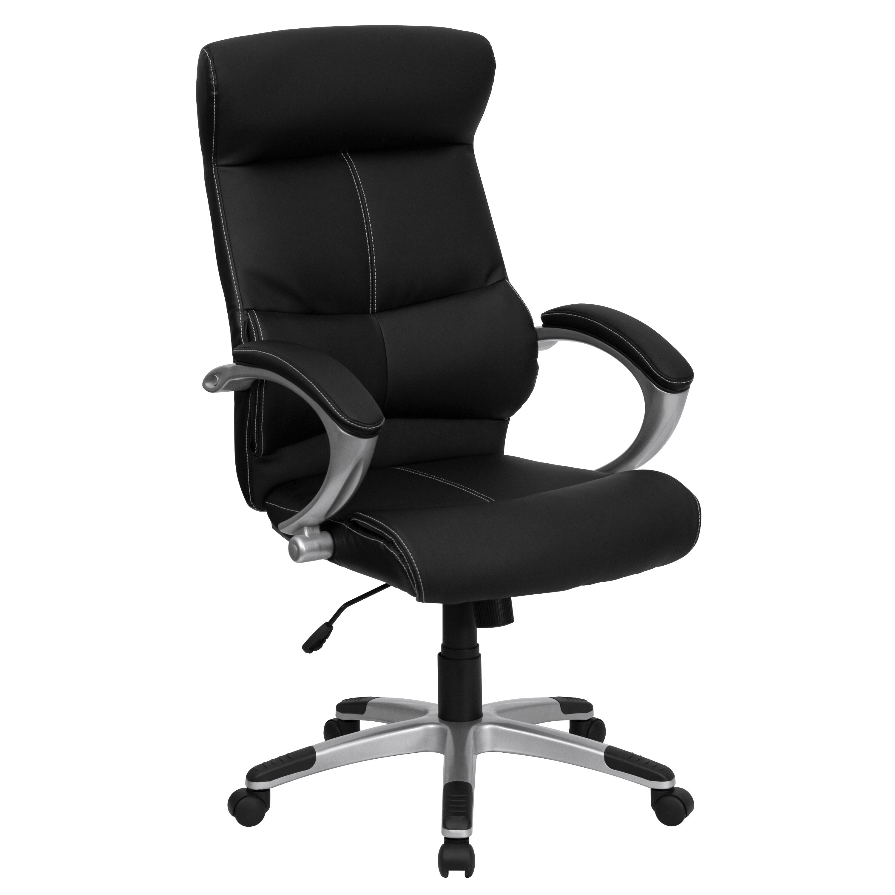 staples stacking chairs round banquet chair covers black high back leather h 9637l 1c gg