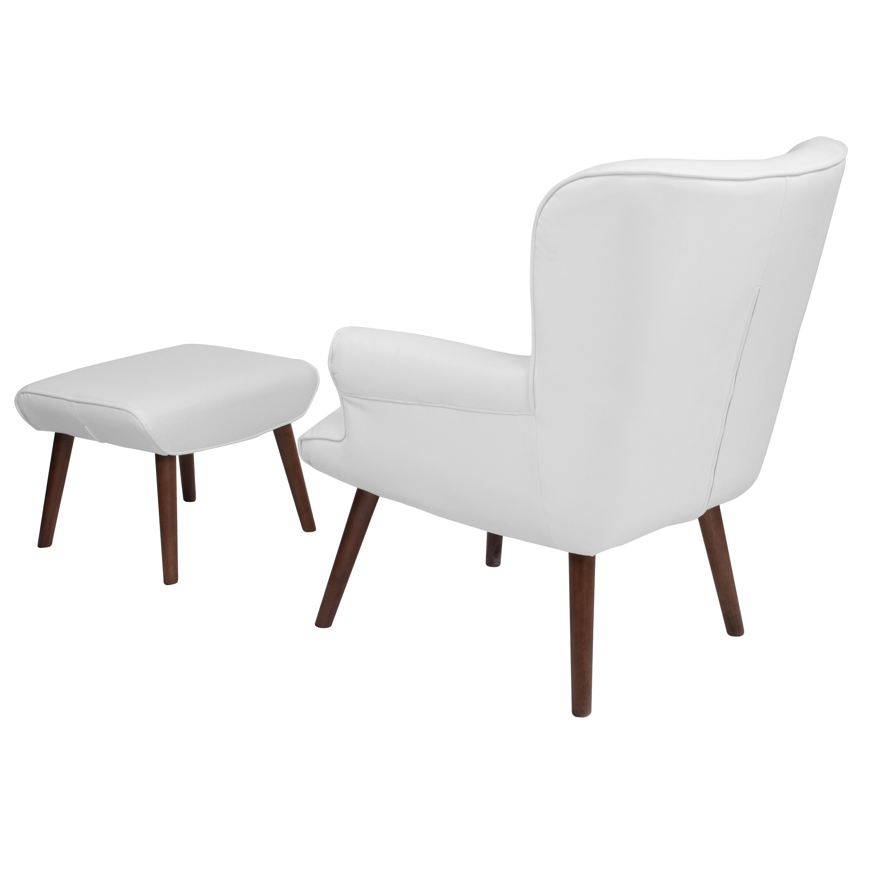 white leather wingback chair ikea stockholm wing ott qy b39 co whl gg bizchair