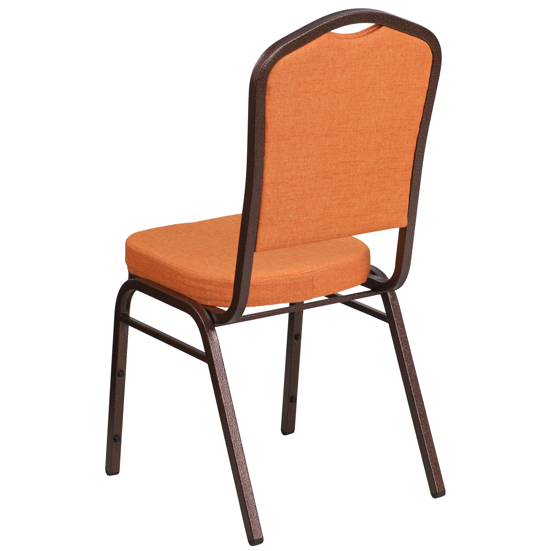 orange stackable chairs office chair no wheels arms fabric banquet fd c01 c 9 gg bizchair