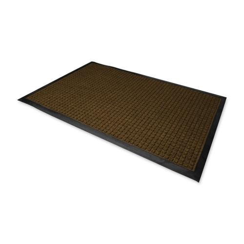 office chair mat 60 x 72 caravan canopy our genuine joe indoor outdoor waterguard brown