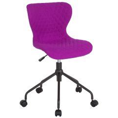 Purple Task Chair Bumbo Cover Fabric Lf 9 07 Pur F Gg Bizchair Com