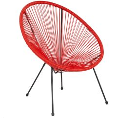 Red Lounge Chair Wedding Covers Leicester Bungee Oval Tlh 094 Gg Bizchair Com