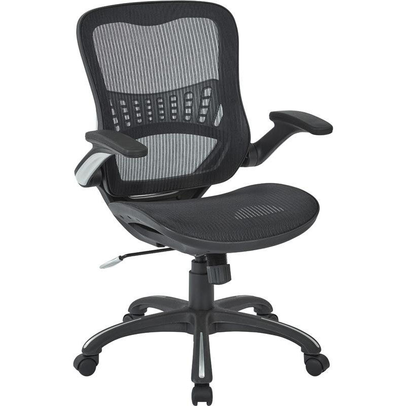 office chair you sit backwards l hitchcock chairs work smart black managers 69906 3 bizchair