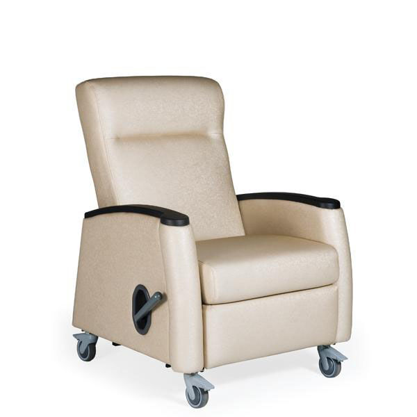 Our Tranquility Mobile Medical Recliner  Vinyl Upholstery
