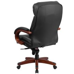 Wood And Leather Executive Office Chairs Pink Desk Chair Australia Black High Back Bt 90171h S Gg Bizchair Com Our Ergonomic With Synchro Tilt Mechanism Mahogany