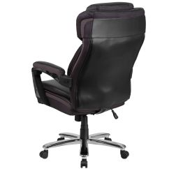 500 Lb Office Chair Cheap Dining Room Chairs Set Of 4 Hercules Series Big And Tall Rated Black Leather