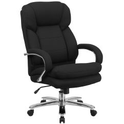 Big And Tall Office Chairs Chair Mic Stand Bizchair Com Hercules Series 24 7 Intensive Use 500 Lb Rated Black Fabric
