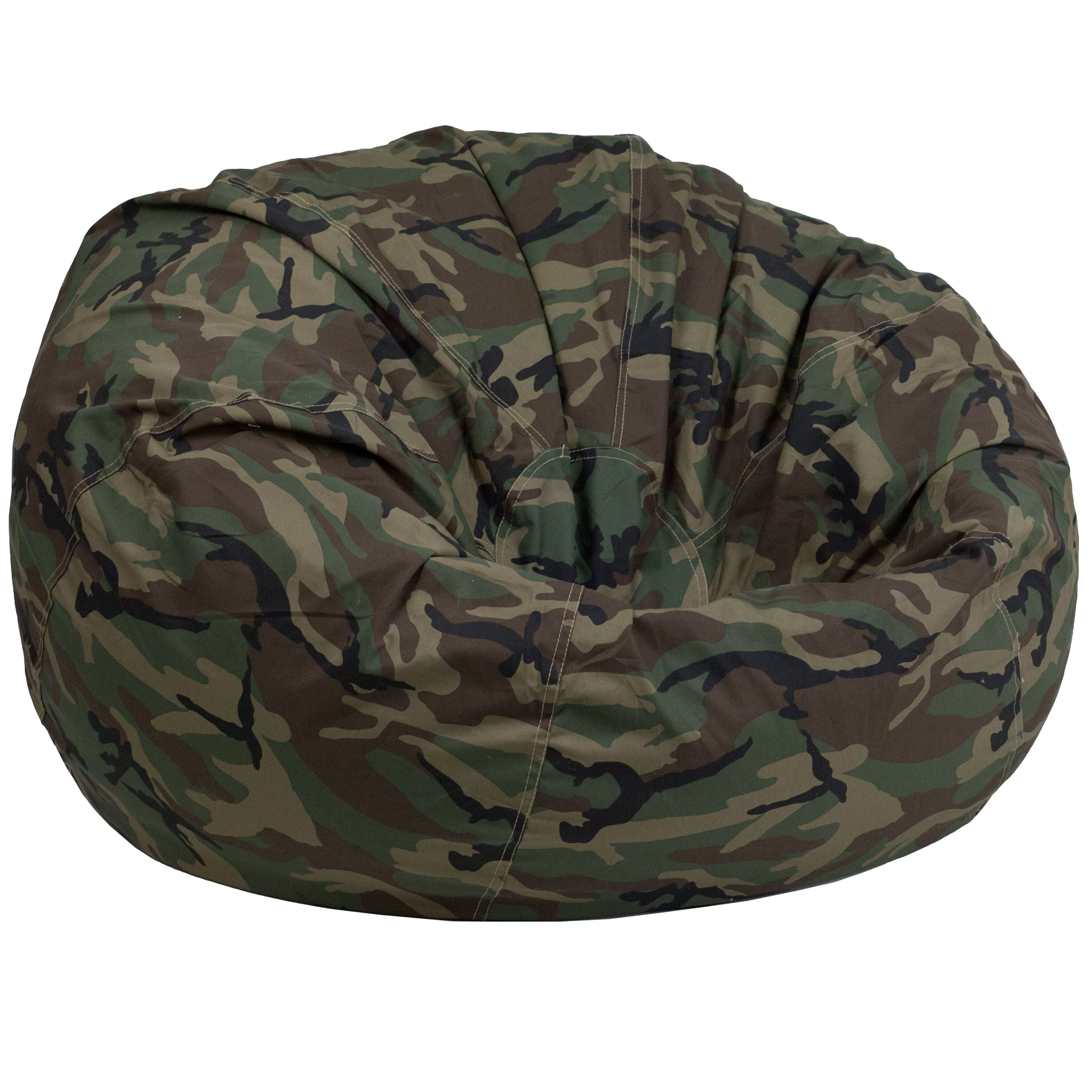 camo office chair dining room side chairs camouflage bean bag dg large gg bizchair