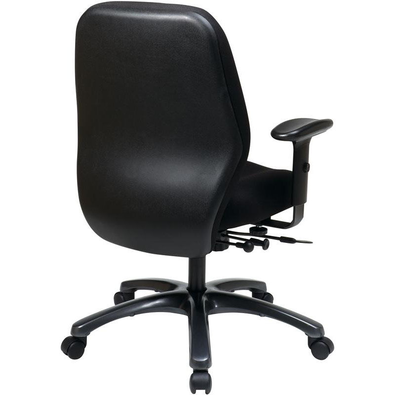ergonomic chair pros bariatric commode pro line ii black office 54666 231 bizchair com our 24 7 high intensity use with 2