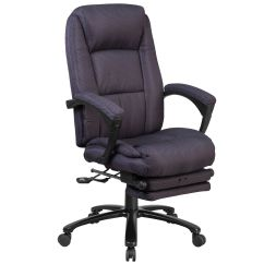 Grey Fabric Swivel Office Chair With Ottoman Sets Flash Furniture Bt 90288h Gy Gg