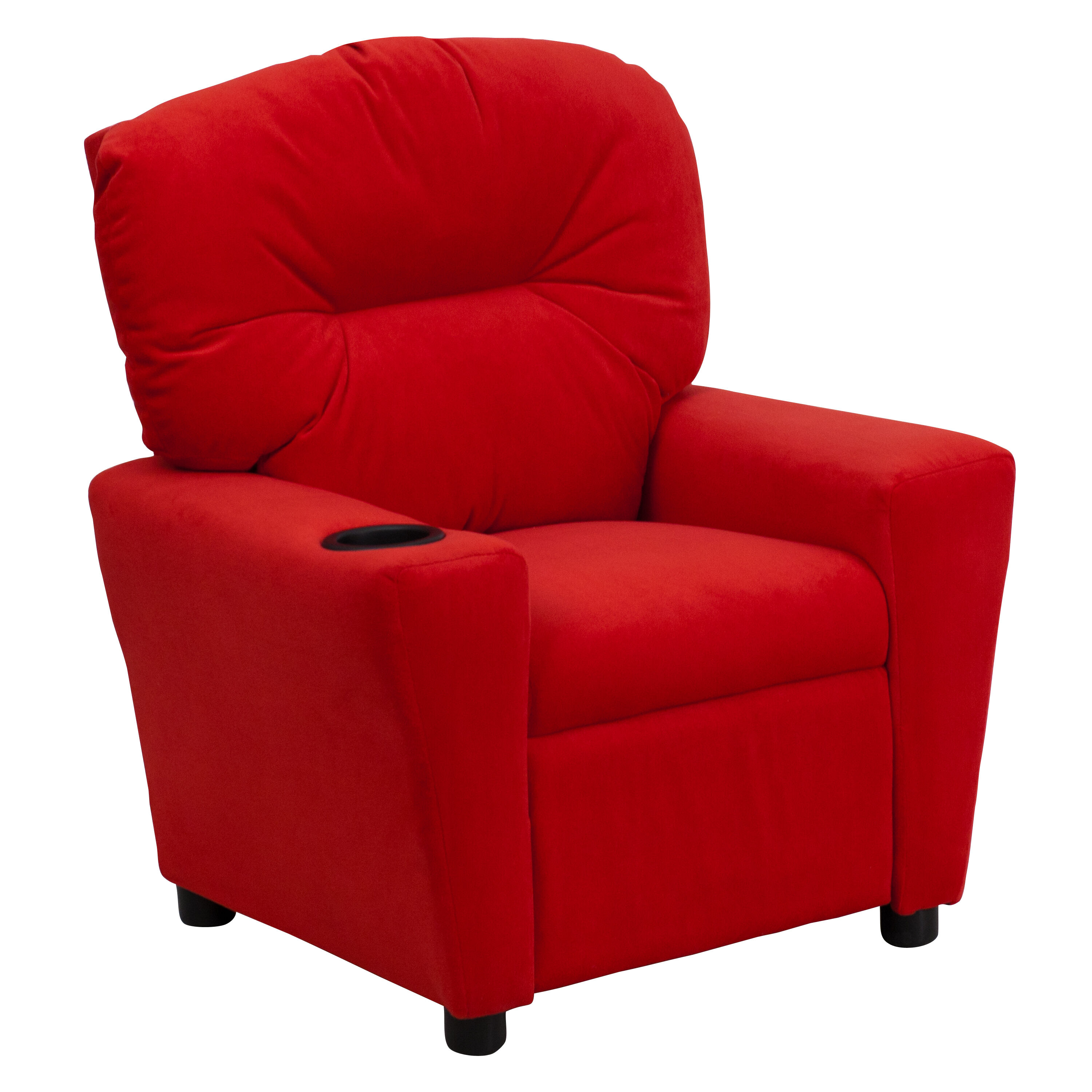 kid recliner chair fairfield company red microfiber kids bt 7950 mic gg