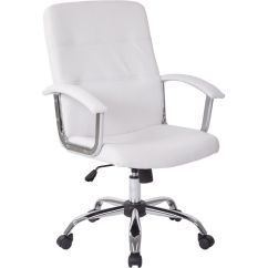 Modern Grey Leather Office Chair Babies R Us High Ave Six Malta Mal26 Wh Bizchair Com Images Our Faux