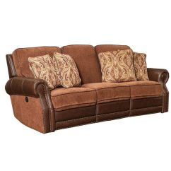 Leather And Chenille Sofa Canape Power Yadkin Bark 39 2170 5501 41 Bizchair Com Our Jefferson Is On Sale Now
