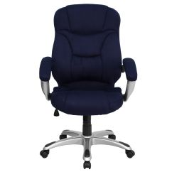 Microfiber Office Chair Pool Room Chairs Navy High Back Go 725 Nvy Gg Bizchair Com Our Blue Contemporary Executive Swivel Ergonomic With Arms Is On