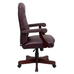 Lane Leather Office Chair Brown Kids Spinning Flash Furniture 801l Lf0019 By Lea Gg Bizchair