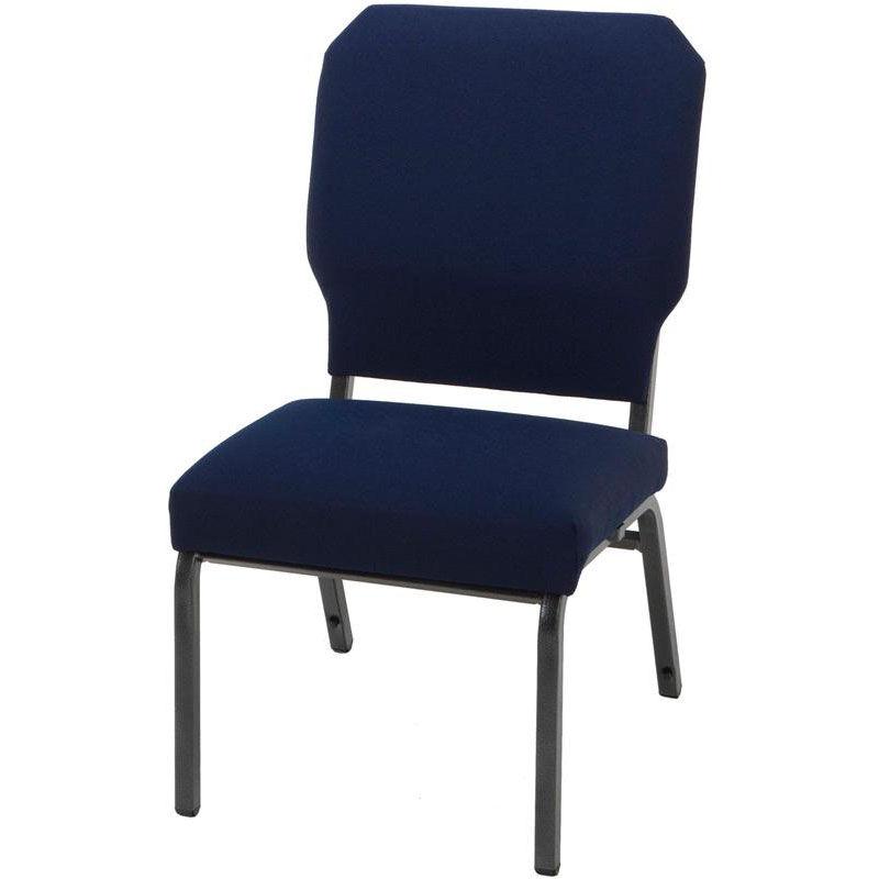 steel armless chair steamer cushions kfi seating hwc1030 ifk bizchair