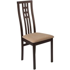 Espresso Dining Chair Victorian Balloon Wood Es Cb 2481ybh E Bge Gg